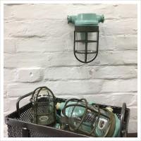 Reclaimed Boat Bulkhead Light