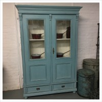 Vintage Armoire Linen Cupboard