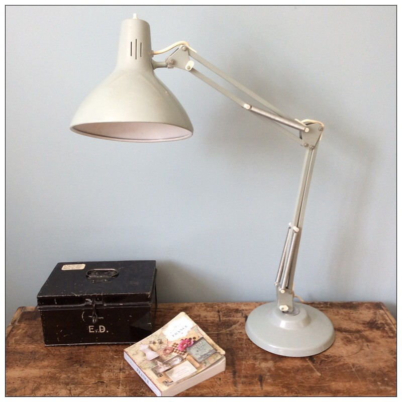 Grey Anglepoise Lamp By Thousand And One Lamps