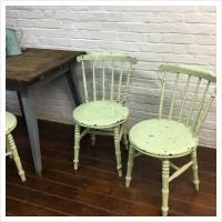 Vintage Painted Farmhouse Chair
