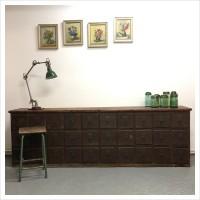 French Shop Haberdashery Drawers