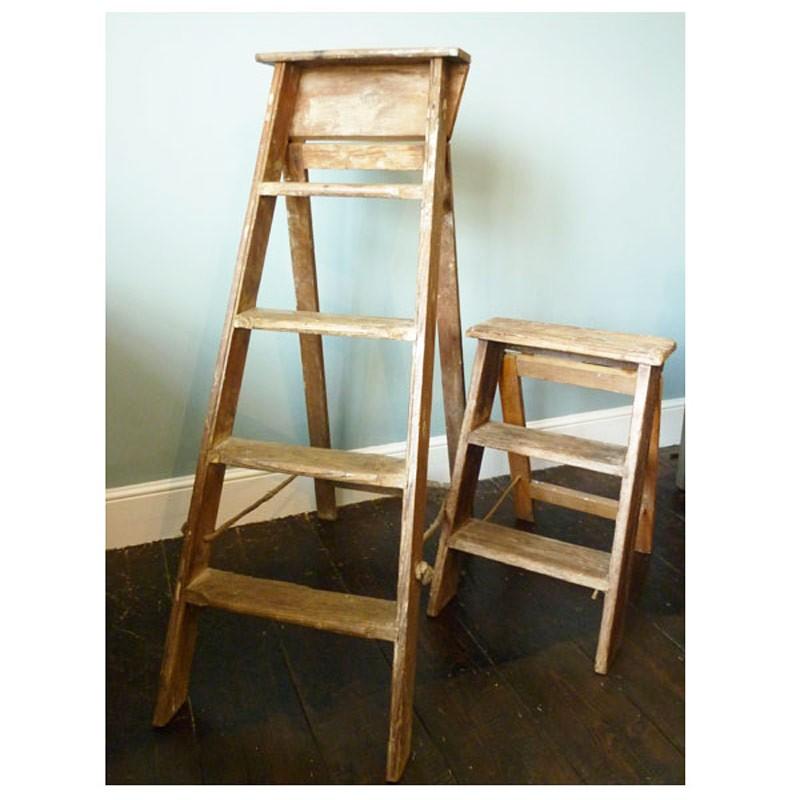 Vintage Wooden Ladder 8