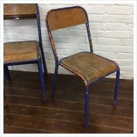 Original French School Chairs