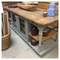Vintage Kitchen Island Worktop