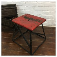 French Factory Stool