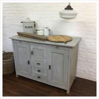 Original Vintage Kitchen Cupboard