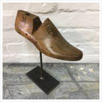 Vintage American Wooden Shoe Last