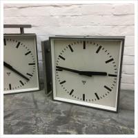 Czech Factory Double Sided Pragotron Clock