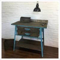 French Garage Workshop Workbench