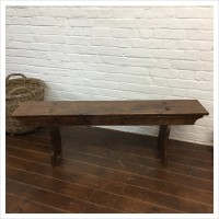 Vintage Canteen School Bench