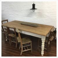 Vintage Farmhouse Kitchen Table