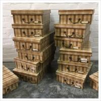 French Haberdashery Storage Box