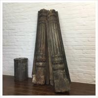 19th Century Teak Indian Columns