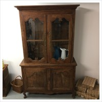 French 19th Century Armoire Linen Cupboard