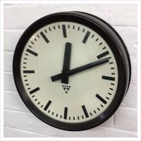 Czech Factory Bakelite Pragotron Clock