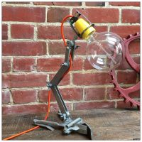 BT Engineers Adjustable Clamp Lamp