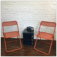 French Metal Mesh Cafe Bistro Garden Chair