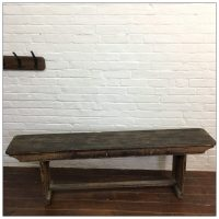 Textile Mill Wooden Canteen Bench