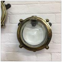 Polished Revo Brass Bulkhead Light