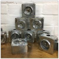 Vintage Metal Conduit Light Crabtree Switch Medium
