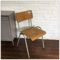 Original School Stacking Chairs