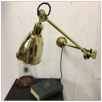 Original Brass 1930s Dugdills Lamp