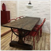 Factory Draughtsman Dining Table