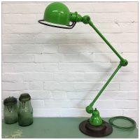 Green 2 Arm Jielde Lamp