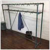 Factory Locker Clothes Rail Hooks