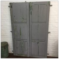 Reclaimed French Shutters