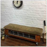 Vintage School Gym Pommel Horse Locker Room Bench