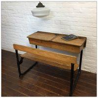 Vintage Victorian School Desk