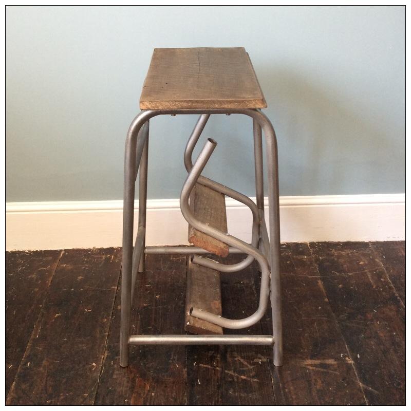 Vintage Folding Step Ladders Mayfly Vintage