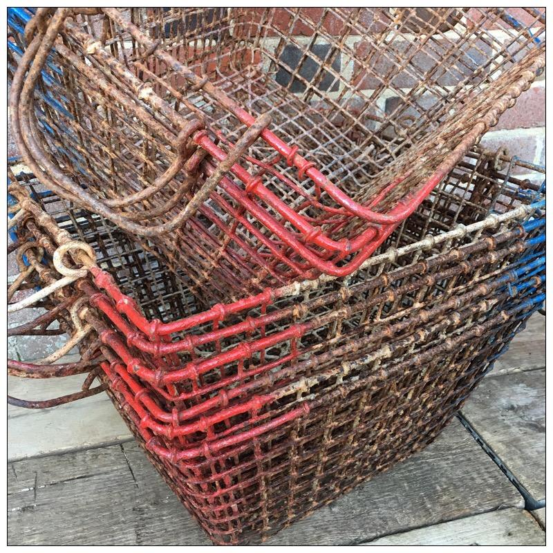 Oyster Baskets Mayfly Vintage